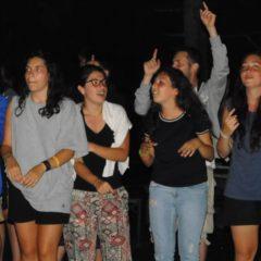 Pożegnanie pielgrzymów z Włoch w Jaroszówce