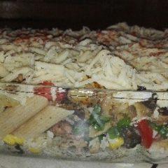 Kącik Kulinarny: makaron zapiekany z mięsem mielonym i warzywami