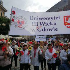 Seniorzy z Gdowa na VI Senioraliach w Krakowie
