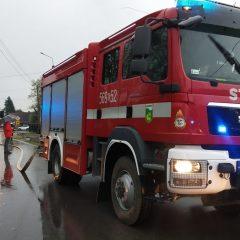 Pożar budynku mieszkalnego w Gdowie