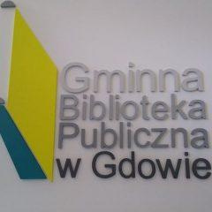 Gminna Biblioteka Publiczna w Gdowie zaprasza czytelników od 1 lipca