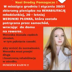 Pomagamy Weronice z Fałkowic