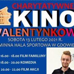 Charytatywne Kino Walentynkowe już w sobotę w Gminnej Hali Sportowej w Gdowie