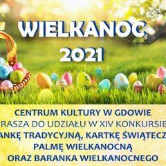 Centrum Kultury w Gdowie zaprasza do udziału w Konkursie Wielkanocnym