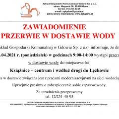 Informacja dla mieszkańców Książnic