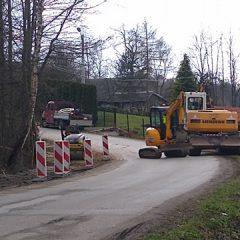 Rozpoczęła się budowa chodnika w Wieńcu