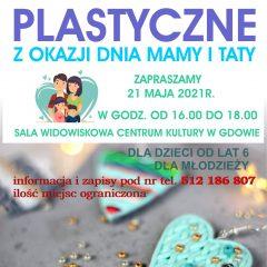 Zaproszenie na warsztaty plastyczne