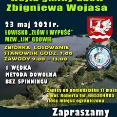 23 maja odbędą się zawody wędkarskie o Puchar Wójta Gminy Gdów