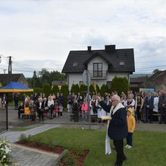 W Pierzchowie poświęcono figurę Św. Józefa a w Krakuszowicach nową kapliczkę Matki Boskiej