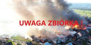Ochotnicza Straż Pożarna w Winiarach prowadzi zbiórkę dla pogorzelców z Nowej Białej