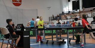 II Ogólnopolski Turniej Tenisa Stołowego Dzieci i Młodzieży w Gminnej Hali Sportowej
