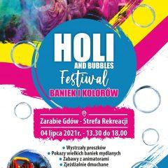 Festiwal kolorów i baniek już w najbliższą niedzielę