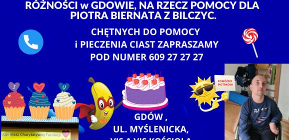 Charytatywny kiermasz dla Piotra z Bilczyc odbędzie się 4 lipca