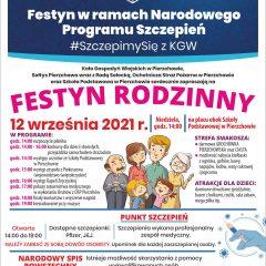Pierzchów zaprasza na Festyn Rodzinny