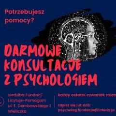 Darmowe spotkania z psychologiem