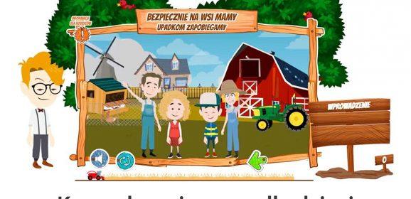 Czy znasz zasady bezpiecznego przebywania w gospodarstwie rolnym? Sprawdź swoją wiedzę i wygraj hulajnogę