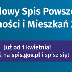 Do końca września trwa Narodowy Spis Powszechny, od dziś dyżury rachmistrza w Niegowici
