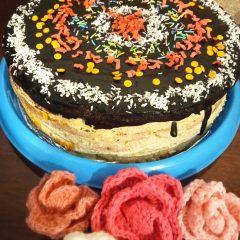 Kącik Kulinarny: Tort biszkoptowy z masą orzechową wg przepisu KGW Pierzchów
