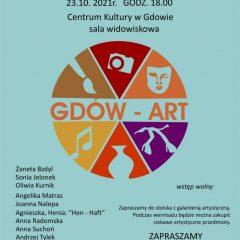 Zaproszenie na wernisaż wystawy grupy Gdów-Art